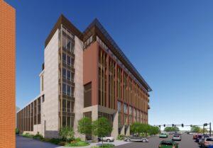 Rendering of the Warner Building