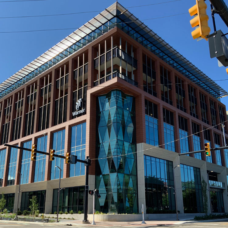 corner view of 180 East Water Street
